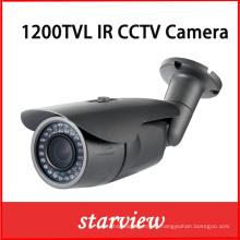 1200tvl IR fijo al aire libre CCTV Bullet cámara de seguridad (W14)