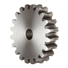 Micro 45Cr Steel Worm Gear for Dental Equipment