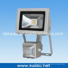 10W COB LED Flood Light with PIR Sensor