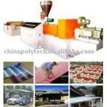 PVC/ASA Glazed Tile Extrusion line