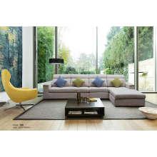 Sofá seccional moderno, sofá de la tela del salón (188)