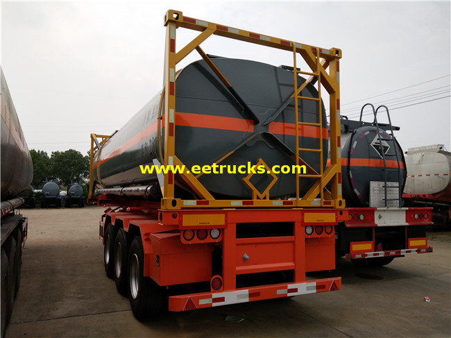 20 Feet Sulfuric Acid Tank Containers
