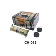 supply 33mm/40mm good quality hookah shisha charcoal