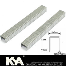 Les agrafes de la série Bea 95 pour les meubles et l'industrie