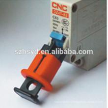 Approuver CE 8mm trou de verrouillage atteindre la gestion par multi personnes nylon verrouillage électrique kits de balisage