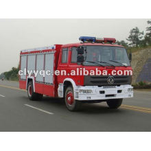 Dongfeng 153 water tanker fire fighting truck