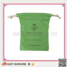 Caja de joyería de Micofiber de la impresión de seda, bolsa de lazo / caja Productos de limpieza de Jewell (DH-M0111)