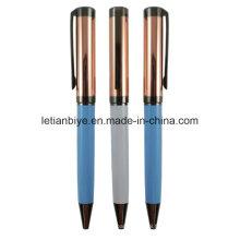 Métal cuivre stylo à bille en gros (LT-D012)