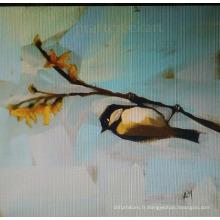 Résumé Peinture d'oiseau