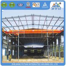 Edificio prefabricado de la fábrica del prefabricado de la columna del tipo del bajo costo H