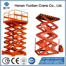 SJG Scissor Type Fixed Hydraulic Lift Work Platform,Scissor lift