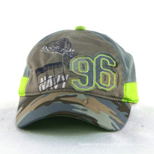Green Camo Soft Nylon Mesh Kids Children Caps