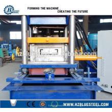 Tubo de acero CZ Canal Purling formando la máquina, forma de C Purlin Roll formando la máquina