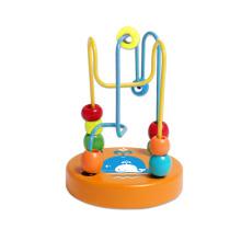 Деревянные мини бусины игрушка для детей и младенцев
