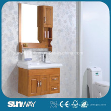 Настенный шкаф для ванной комнаты с зеркалом