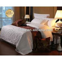 Los diversos colores vendedores calientes venden al por mayor el sistema de lino de la cama del hotel de 5 estrellas