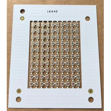 2 layer 0.4mm white solder ENIG PCB