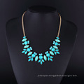 Gold Plating Turquoise Stone Necklace for Women