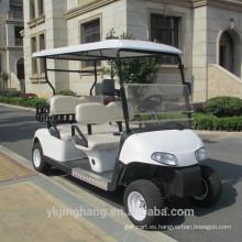 Carrito de golf eléctrico de cuatro plazas