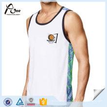 Camisola de basquete reversível do desgaste do Gym dos homens