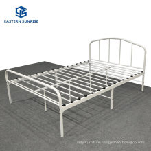 Wholesale Modern Hotel Bedroom Upholstered Leather Iron Queen King Bed