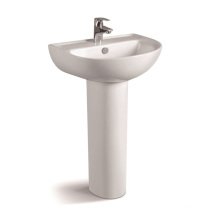 006b Economic Bathroom Ceramic Pedestal Basin