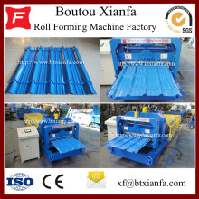 Factory making for Africa Type Glazed Tile Roll Forming Machine Manufacturers machine tiles making steel former equipment export to Falkland Islands (Malvinas) Manufacturers
