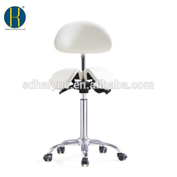 high qualilty white synthetic leather home furniture with back rest for office lift table