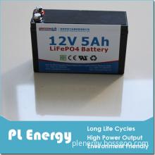 Shenzhen Factory LiFePO4 Lithium Motorcycle Battery Mf 12V 5ah