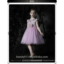 Latest Fancy Kids Princess Dress Children Model Wedding Dress Christmas Designer One Piece Baby ED651