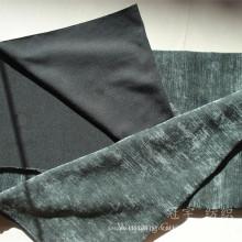 Tissu de chenille teint par 100% de fil à la maison de polyester de polyester