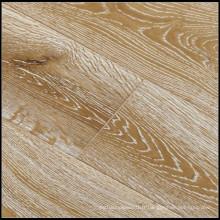 Plancher en bois de chêne machiné par chêne huilé fumé et balayé par E0 / plancher en bois dur
