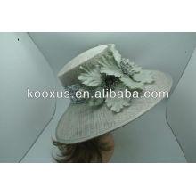 Ladies sinamay hats,wedding caps,church hats
