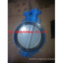 Wafer Butterfly Valve with Coating Disc