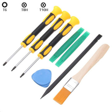 8Pcs in 1 set Torx T8 T6 T10 Screwdriver Prying Tool Kit Set For Xbox One 360 For PS3 For PS4 Controller wireless