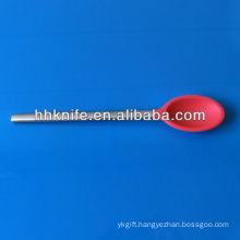 Silicone Salad Serving Spoon with Stainless Steel Handle