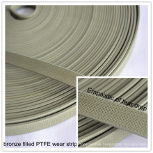 Filled Bronze Wear Strip PTFE Tape