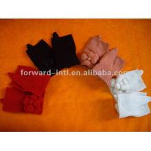 100% guantes de cachemira puros