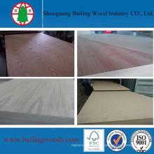 La chapa de madera natural colorea el MDF para los muebles de alta calidad