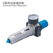 Unidades de tratamento de fontes pneumáticas ESP Série DFR Regulador de filtros de ar