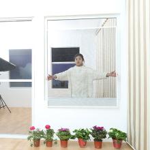 fenêtre d'écran fixe avec crochets ruban adhésif