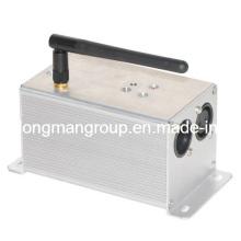 Transceptor sem fio recarregável DMX512 / controlador DMX sem fio