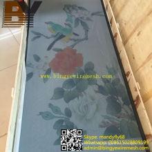 Pantalla de seguridad de acero inoxidable para malla de ventana