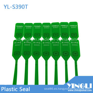 Sello de plástico de bloqueo de metal de alta seguridad