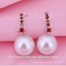 Alibaba nouvelle marque bijoux en argent plaqué d'imitation en Chine Bijoux plaqués rhodium est votre bon choix