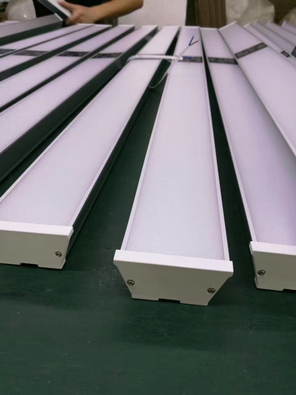 led linear light with sensor