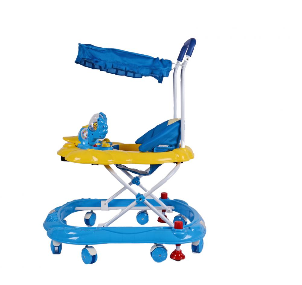 Baby Walker with Sunshade and Toys