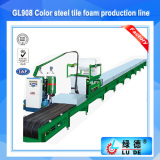 GL908 High Quality Polyurethane Foam PU Sandwich Panel Making Machine