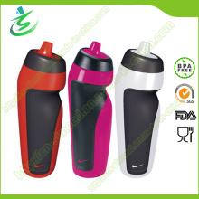 600ml botella de agua plegable de los deportes con la etiqueta privada