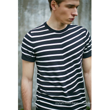 2016new Fashion Cotton Viscose Striped Men Sweater
